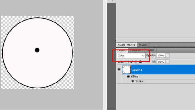 cara membuat stempel lingkaran dengan photoshop