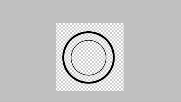 stempel berbentuk lingkaran
