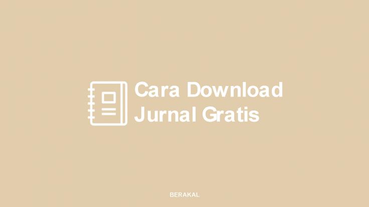 Cara Download Jurnal Gratis