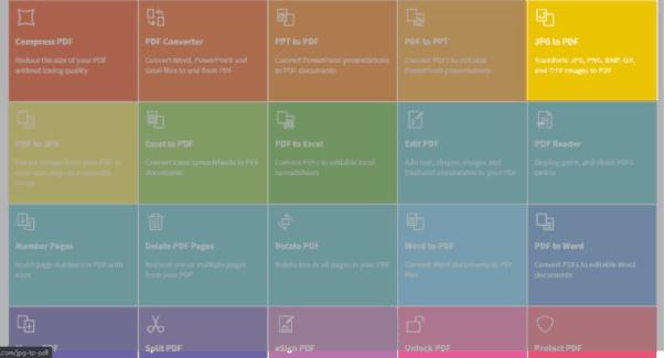 Menggabungkan File JPG Secara Online dengan Smallpdf