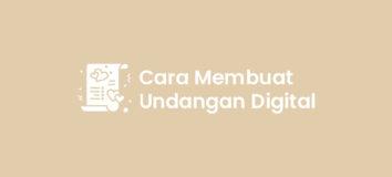 Cara Membuat Undangan Digital